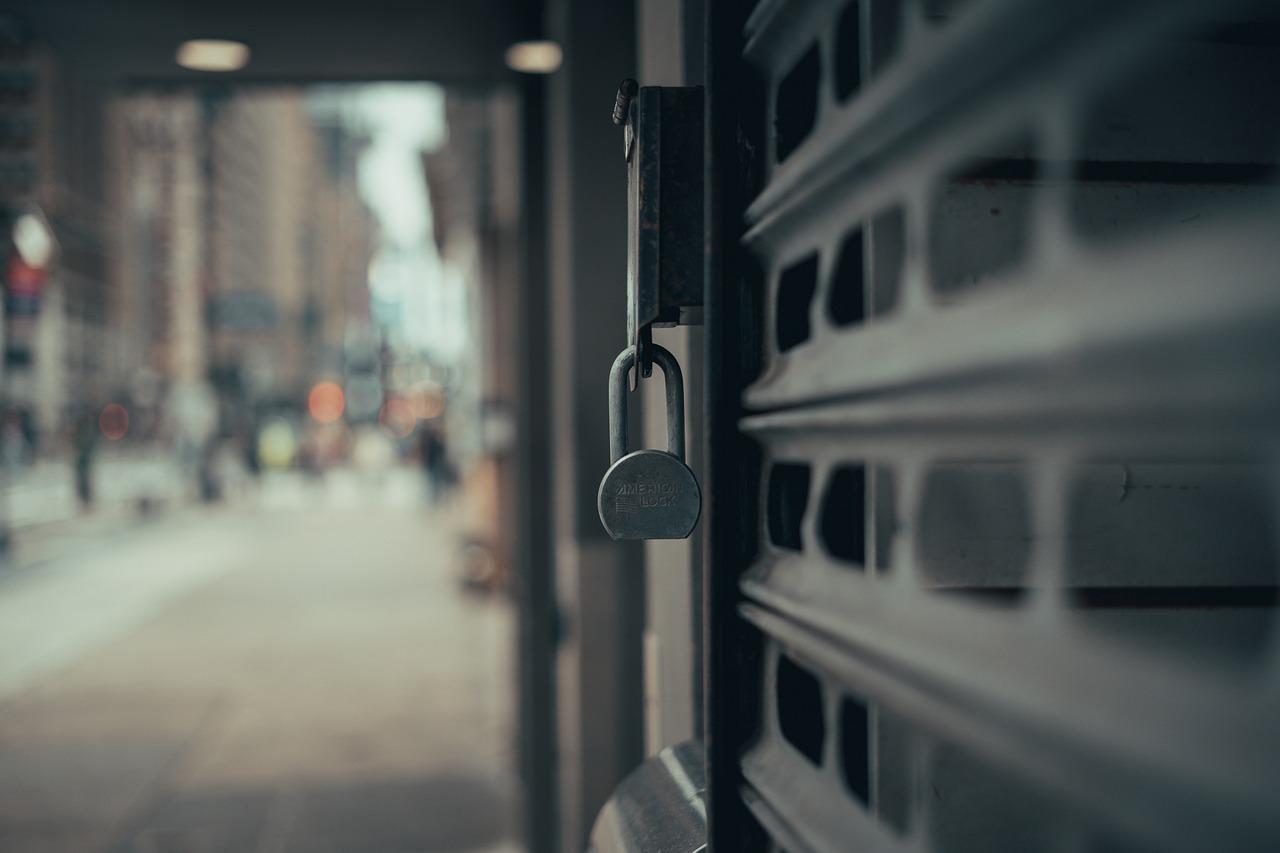 Üzletek Zárva Store Zárt - Ingyenes fotó a Pixabay-en