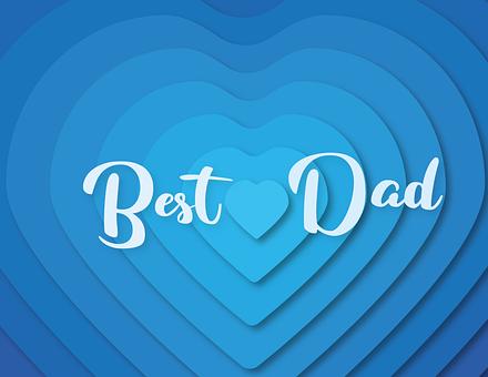 父の日, 愛, 心, 誕生日, 家族, 誕生日カード, ご挨拶