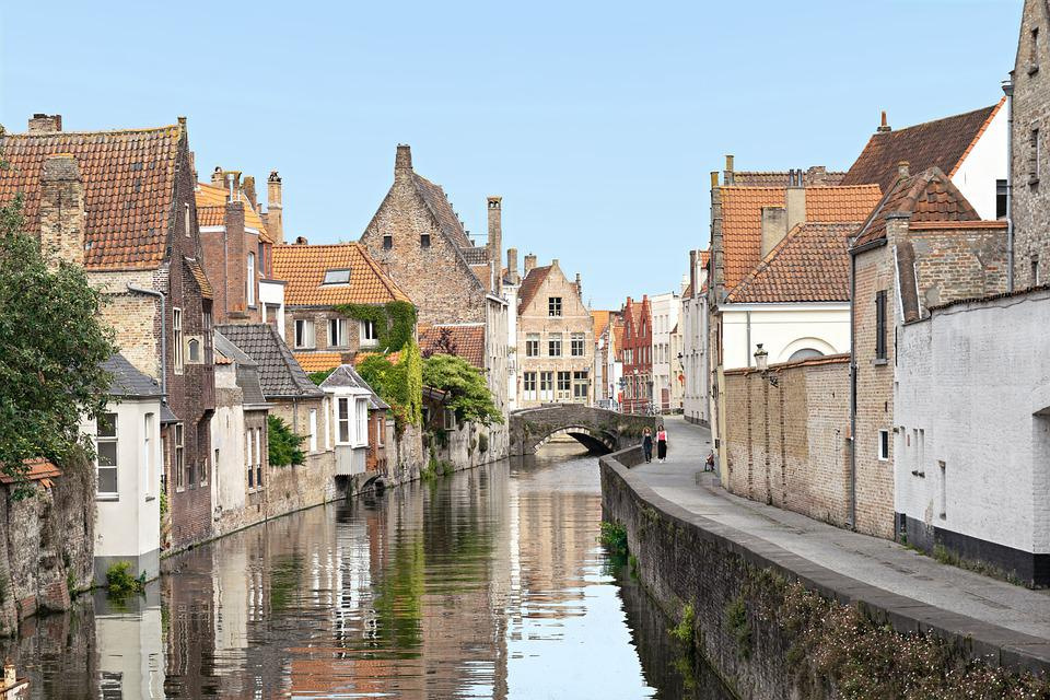 Brugge, Bruges, Belçika, Mimari, Şehir, Romantik
