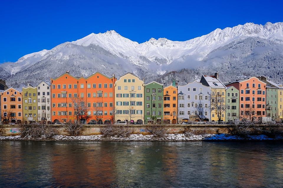 A scenic view of Innsbruck