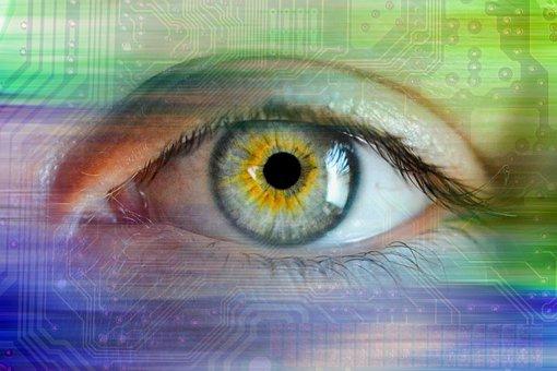 Spying, Eye, Surveillance, Spy, Hacker