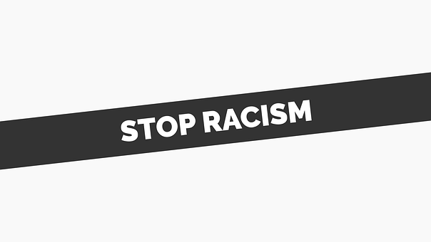 Stop, Racism, Banner, Protest