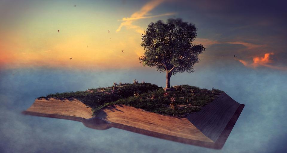 Book, Landscape, Read, Leaves, Atmosphere, Inspiration