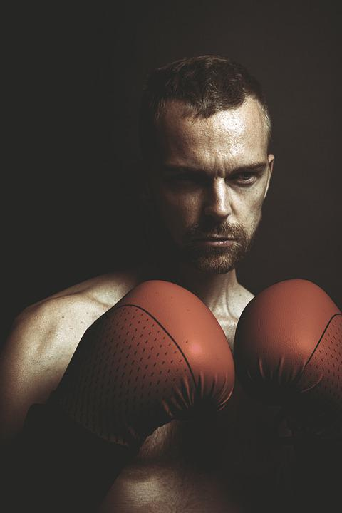 Boxing, Box, Fight, Boxer, Sports, Male, Ring, Nude
