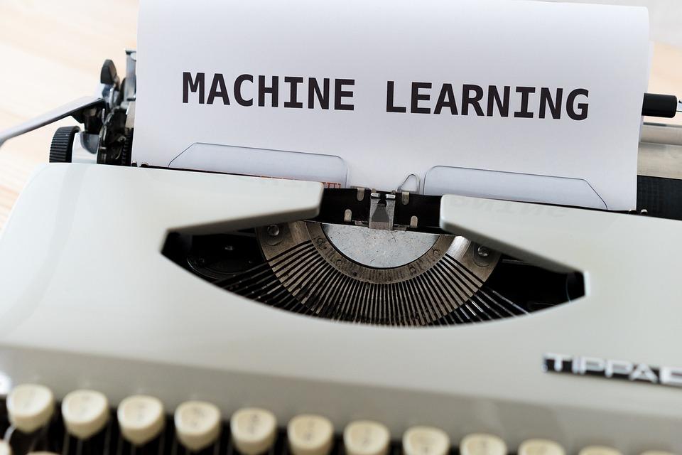 Machine Learning, Typewriter, Artificial Intelligence