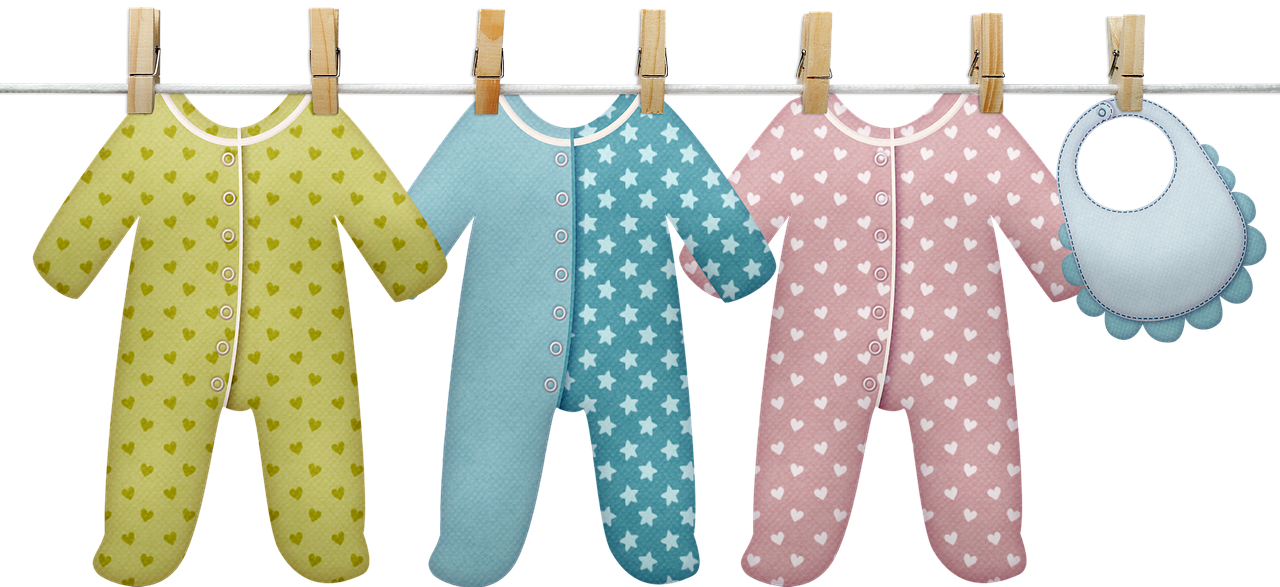 Baby Clothesline Clothes - Free image on Pixabay
