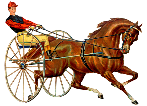Vintage Horse Race, Harness Racing