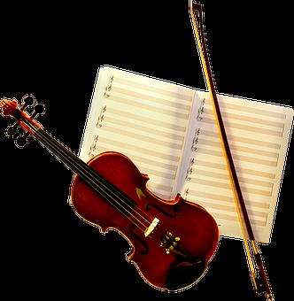 Violin, Music Sheet, Music, Song