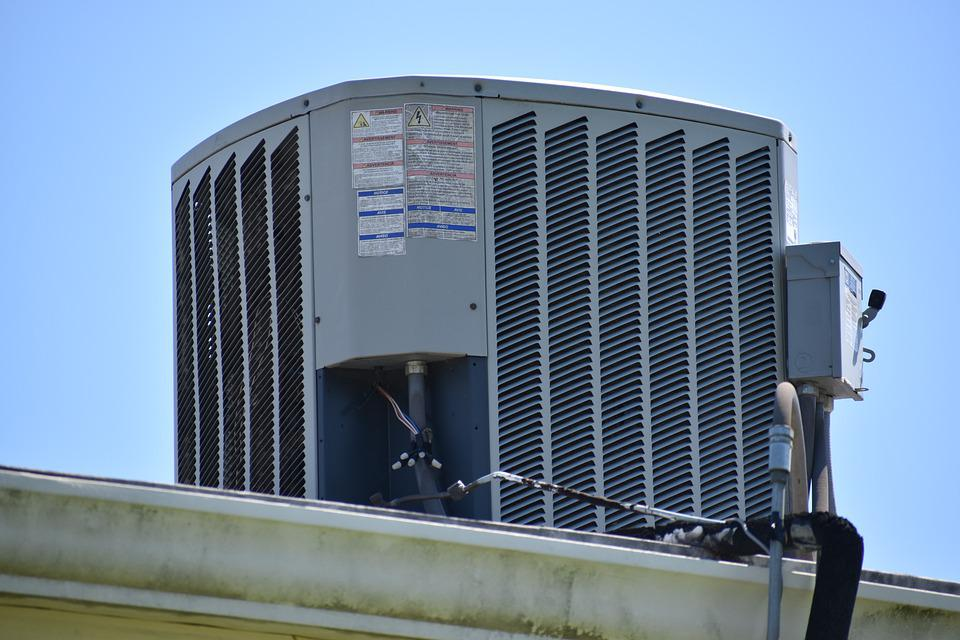 Air Conditioner, Roof, Unit, Cooling, Building