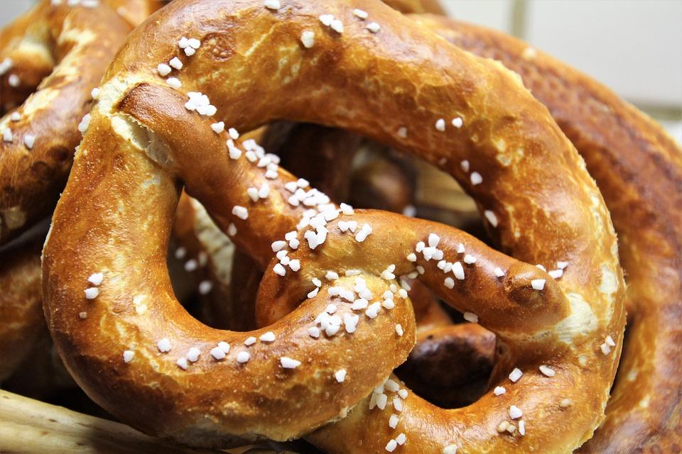 Pretzels, Pretzel, Laugenbreze, Oktoberfest, Delicious