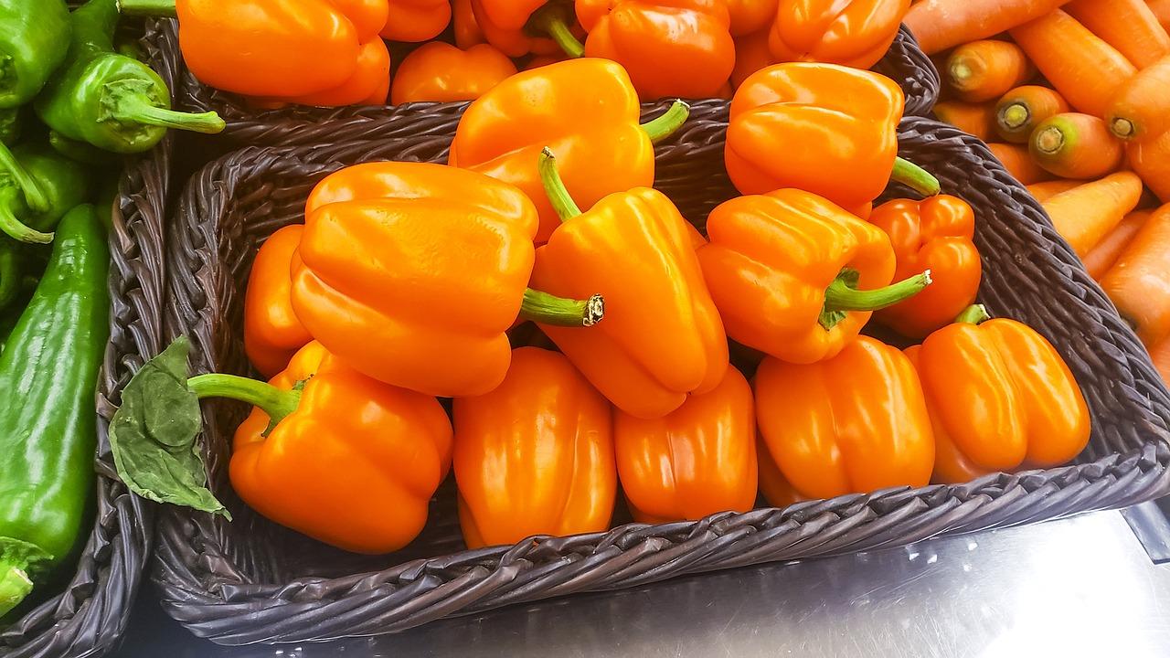 Caspicum Green Pepper Vegetables - Free photo on Pixabay