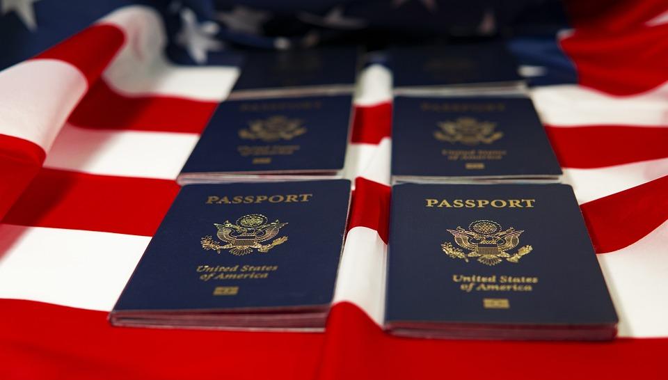 Usa Passport Flag - Free photo on Pixabay