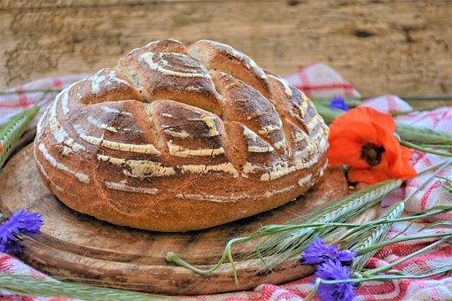 Bread, Wheat, Rye, Dough, Sauereig, Bio
