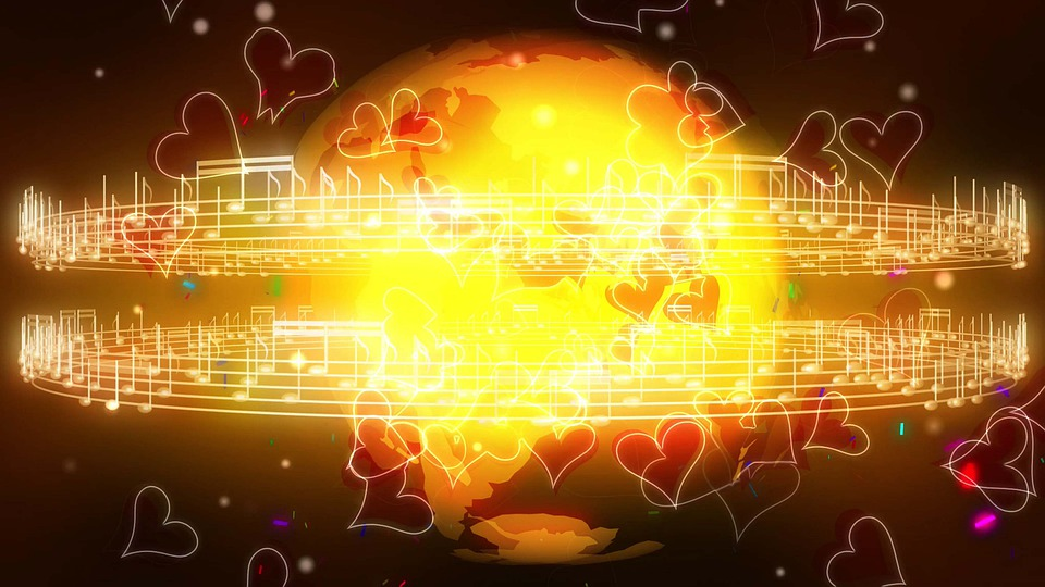 Earth, Globe, Music, Notes, World, Global, Geography