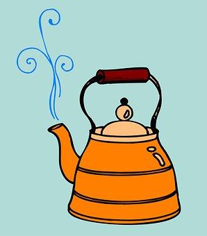 Kettle, Tea, Kitchen, Drink, Teapot, Hot