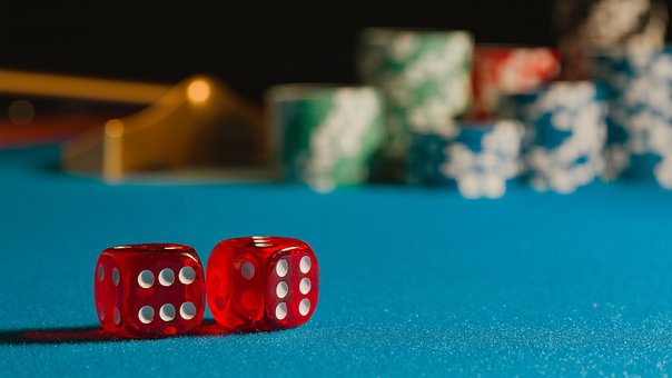 Dice, Chips, Casino, Poker, Gambling