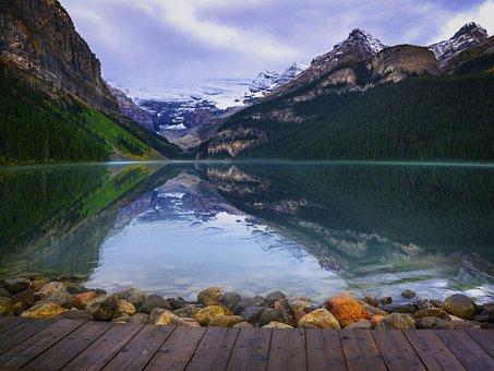 Estate, Lago, Montagne, Vacanza
