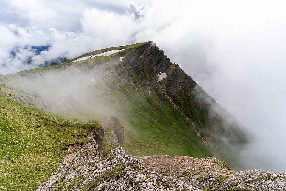 La Naturaleza, Montañas, Alpine, Niebla, Mística