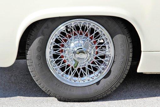 リム, 車のリム, スポーク, スポークリム, 車のタイヤ, タイヤ, 自動車