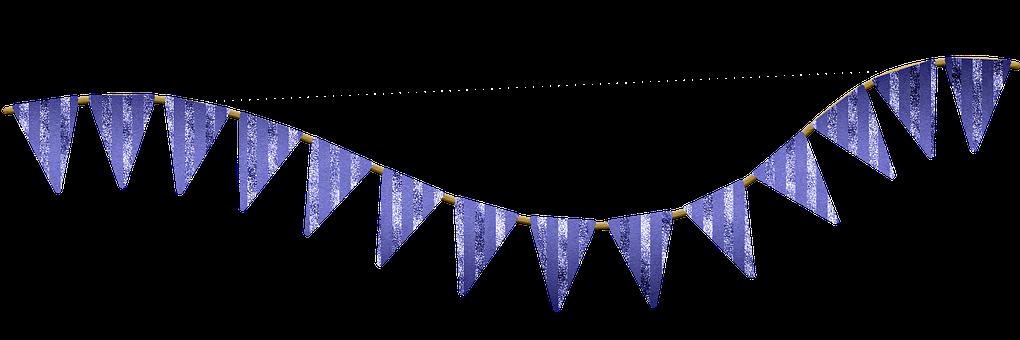 Bunting, Banner, Garland, Design
