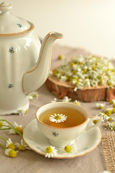 Tea, Herbs, Chamomile, Health, Flowers