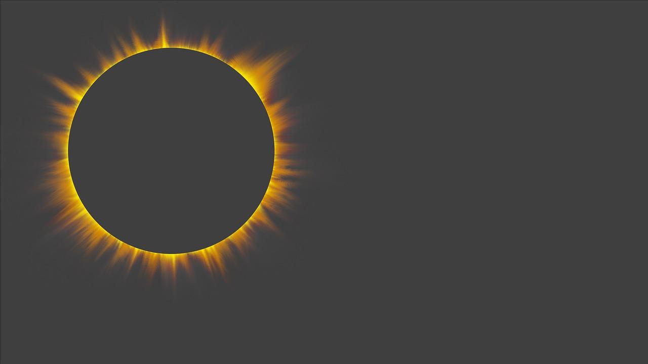 Solar Eclipse Halo Free Image On Pixabay