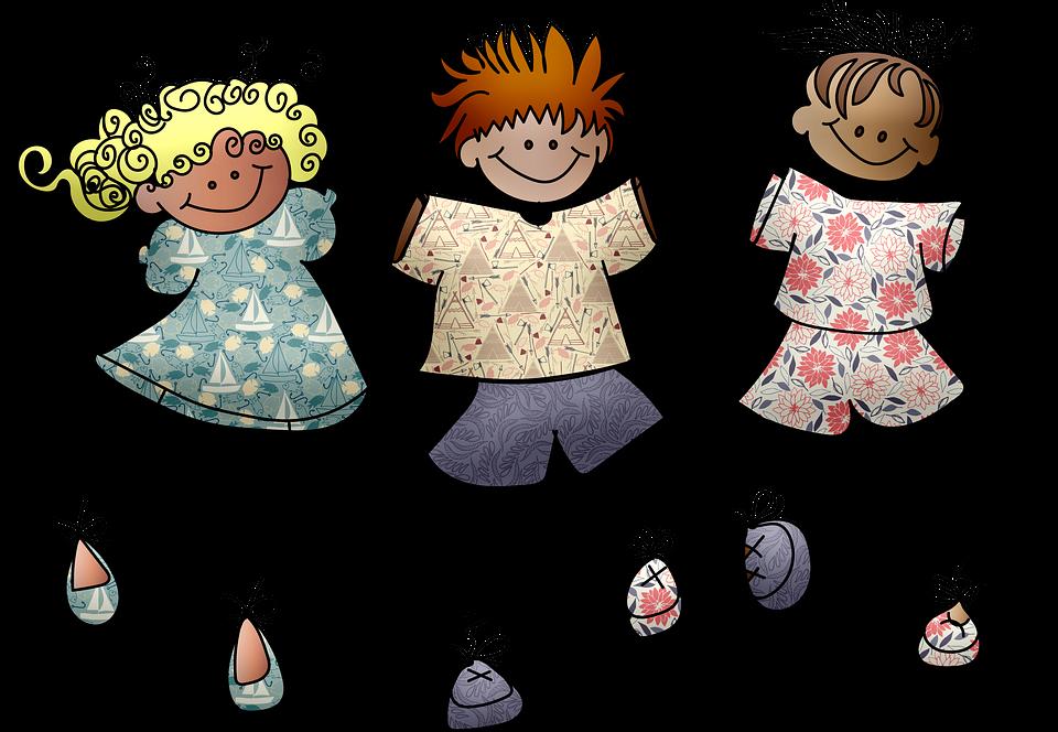 Stick Lidí Děti Školy - Obrázek zdarma na Pixabay