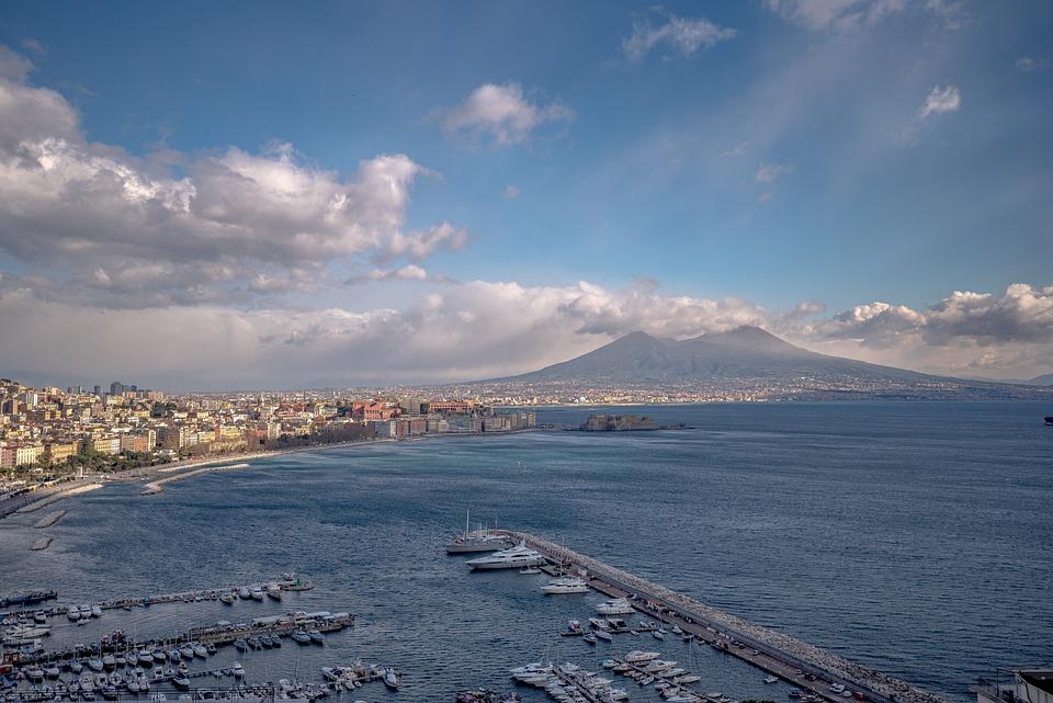 Napoli, Golfo, Vesuvius, Baia, Costa, Barca, Acqua