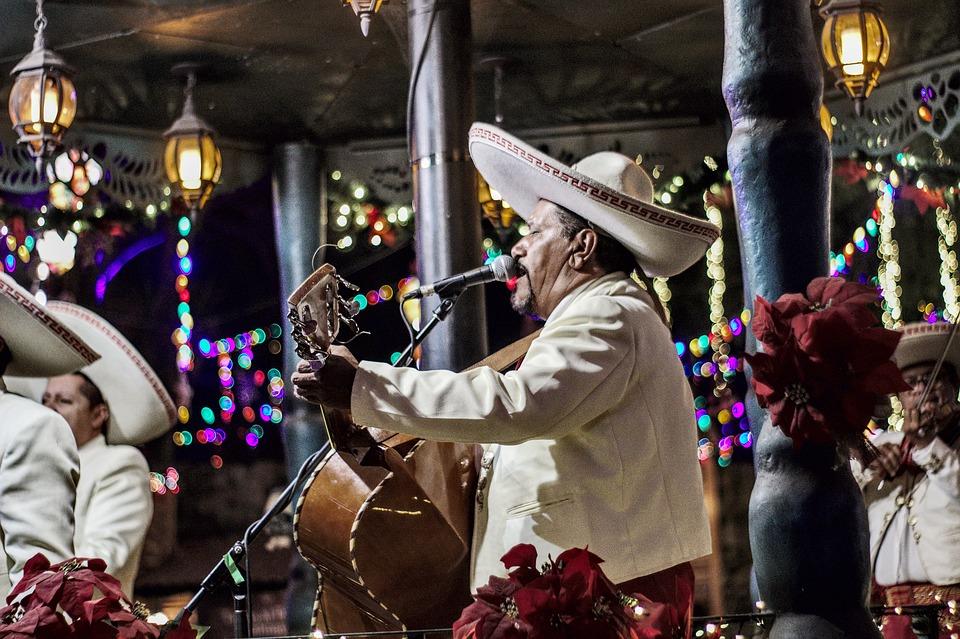 Mariachi, Guitarra, Mexico, México, Música, Instrumento