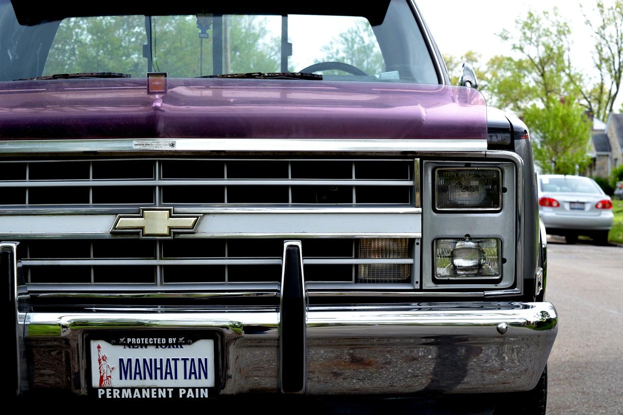 Vintage Chevy Silverado