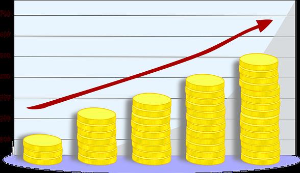 Pièces De Monnaie, Graphique, Économie
