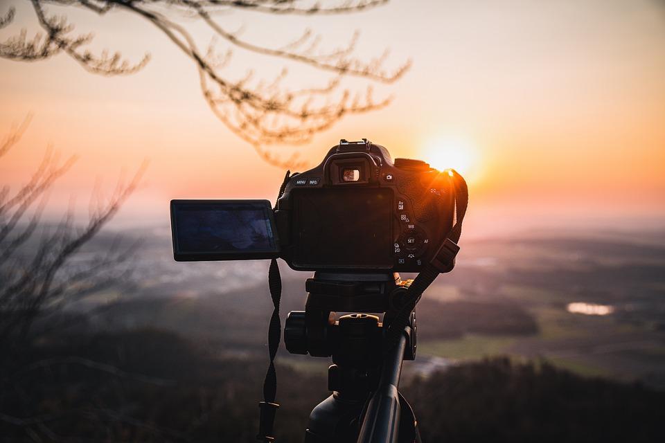 日没, カメラ, 風景, 夕暮れ, ミステリー, 自然写真, 写真, カメラマン, 自然, 空