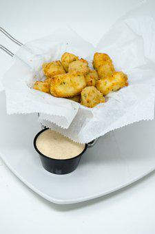 Cheese Balls, Curds, Cheese, Food