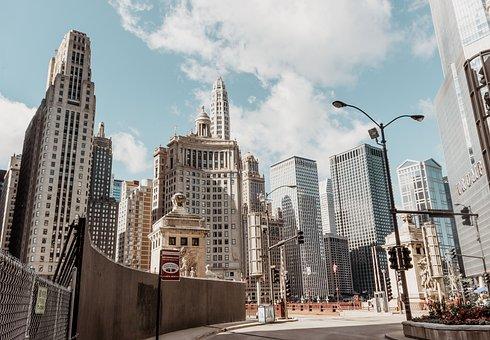 建物, 市, 通り, 通りの写真撮影, 高層ビル, 都市, 都市景観