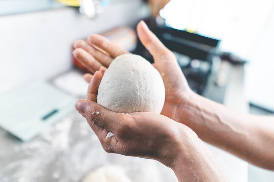 Hand, Dough, Food, Kitchen, Home, Fresh, Yeast