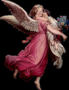 Vintage Angel, Angel, Praying
