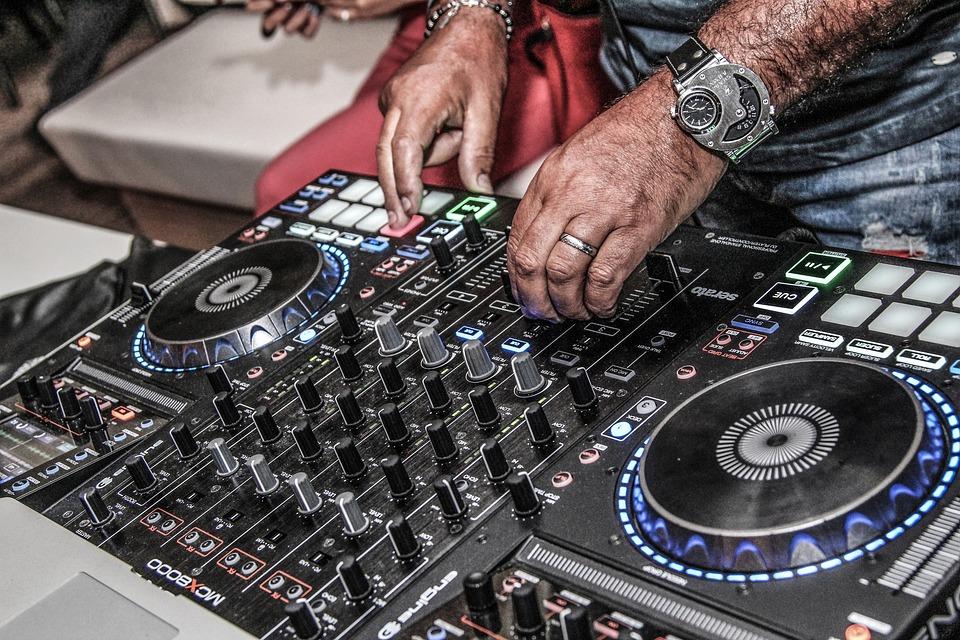 Dj, Music, Disco, Audio, Vinyl, Sound, Headphones