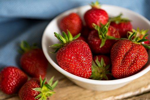 Strawberries, Shell, Fruit, Red