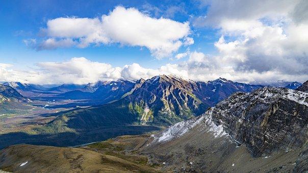 A Distanza, Catena Montuosa, Picchi