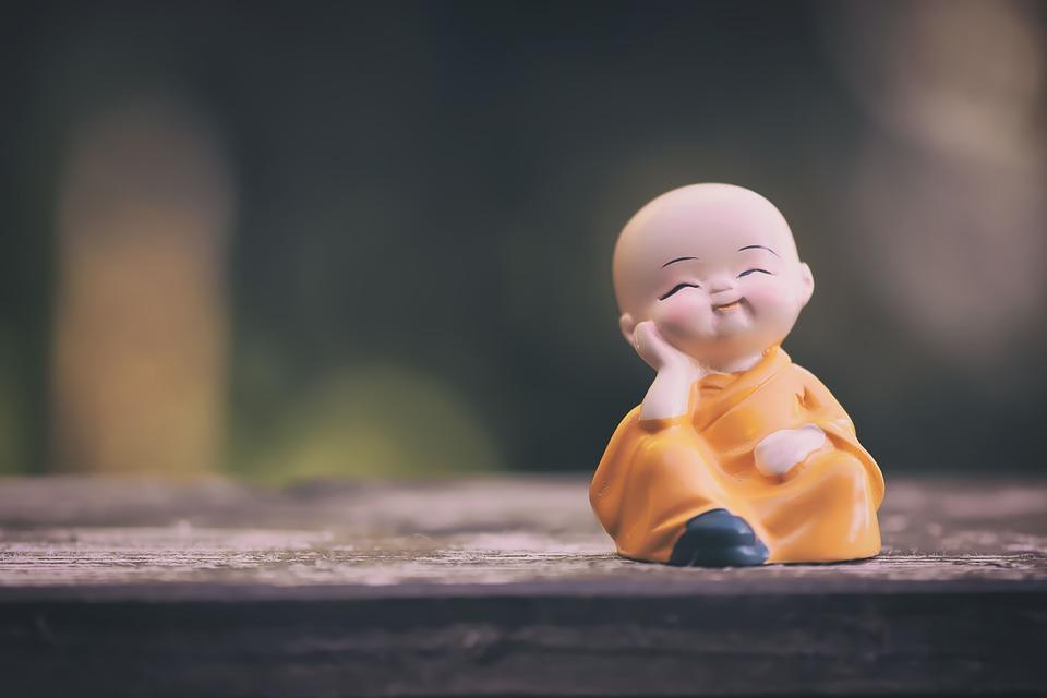 修道士, フィギュア, リラックスした, 宗教, 瞑想, リラクゼーション, ハーモニー, 仏