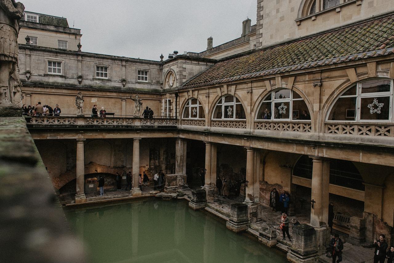 السياحة في بريطانيا - الحمامات الرومانية