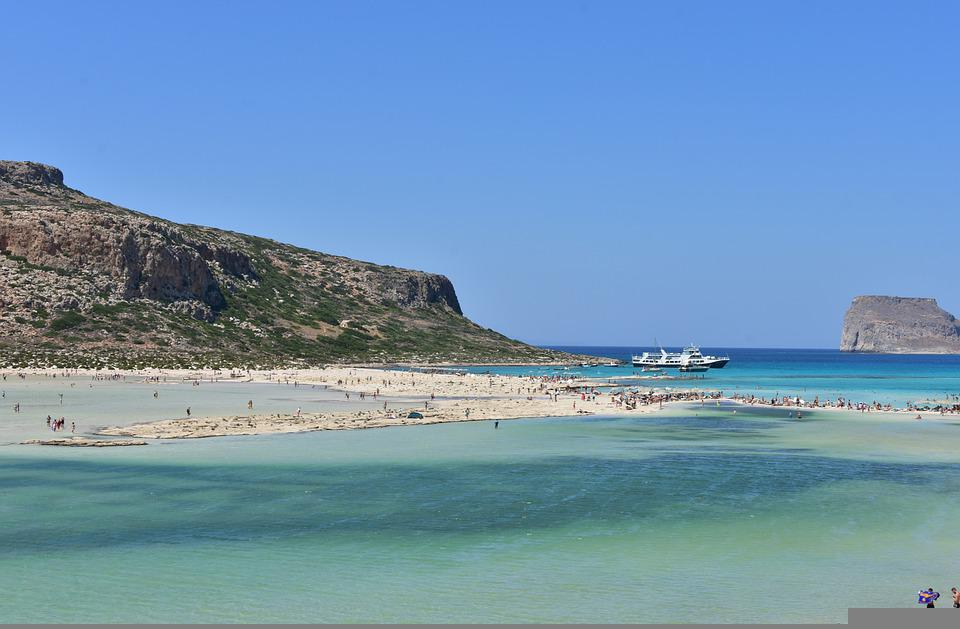 Balos Side, Crete Beach, Greece, Panorama Beach
