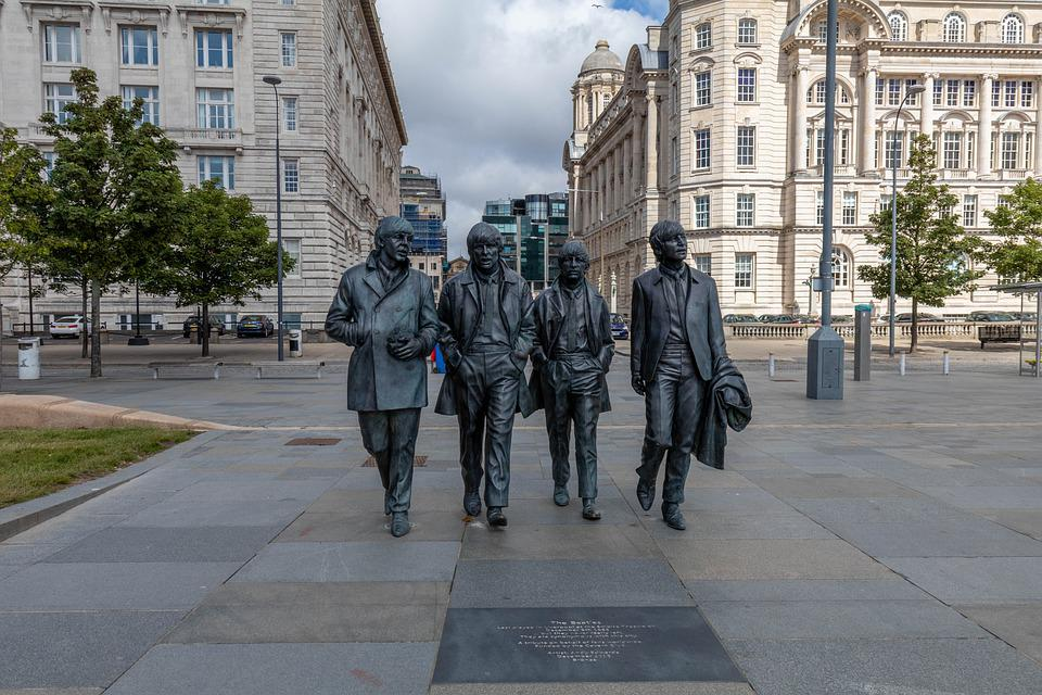 Beatles, Statue, Liverpool, Music, John, Lennon