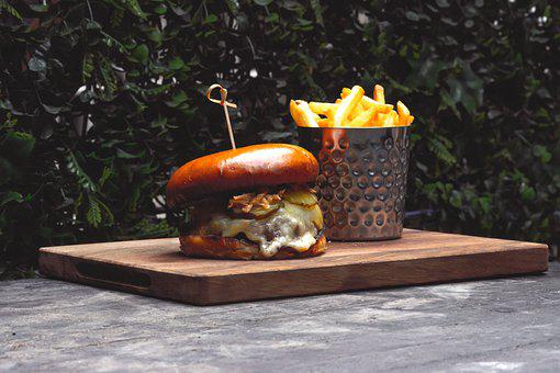 Burger, Food, Kitchen, Hamburger, Lunch