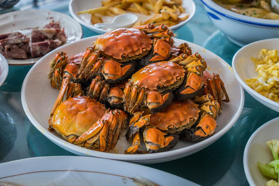 Crab, Meal, Food, Fresh, Yummy, Sea, Enjoy The Meal