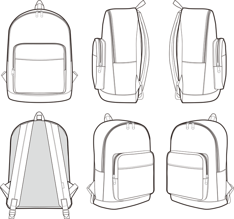 Backpack Bag Travel Free Vector Graphic On Pixabay