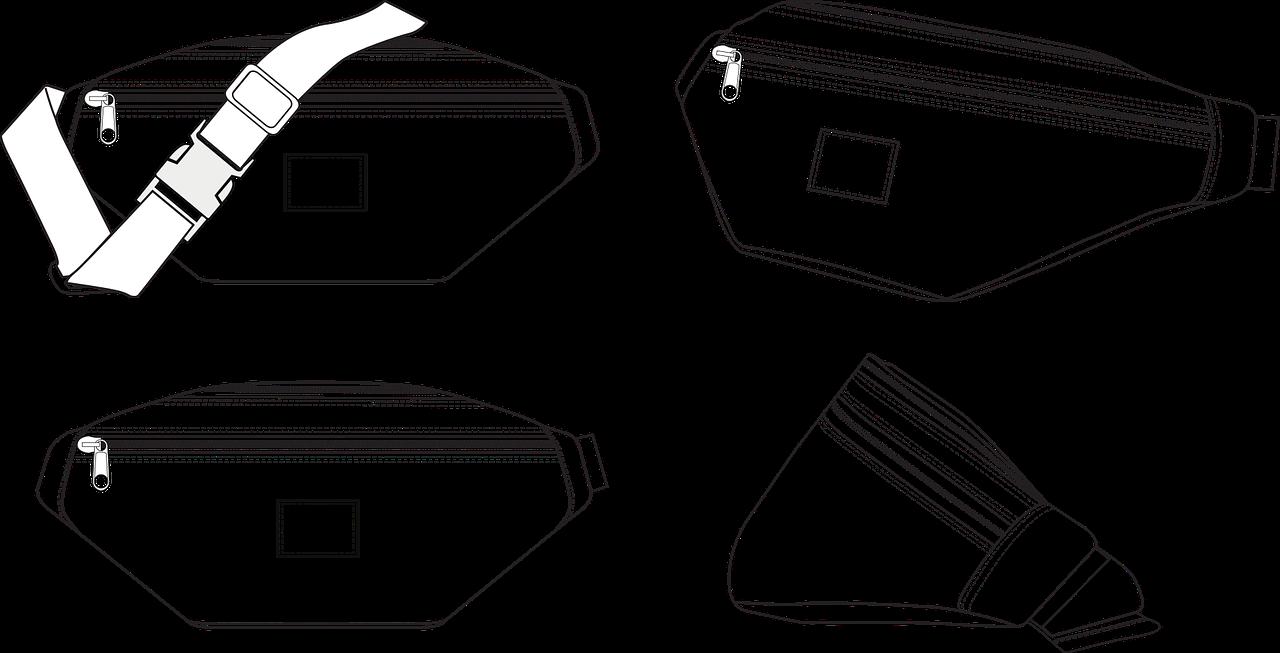 Waist Bag Fashion Sketch Free Vector Graphic On Pixabay