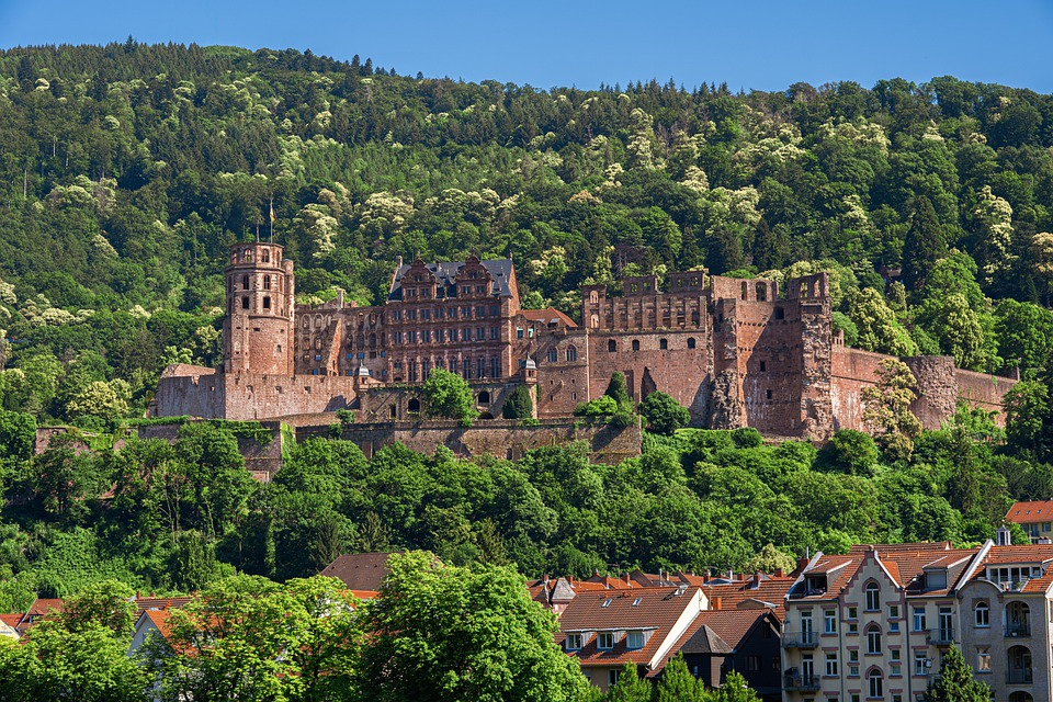 Schlussruine Heidelberg