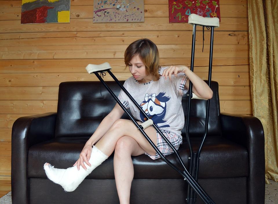 Crutches, Trauma, Fracture, Legs, Injury, Bone, Health