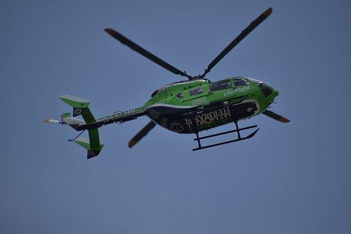 Helicóptero, De Emergencia